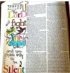 My first attempt at Bible Journaling. I really enjoyed it and it's a wonderful way to study the Word.
