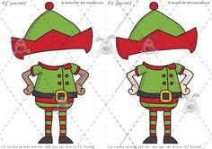 Elf Yourself Printable - Christmas Printables Christmas Classroom Door, Christmas Door Decorations, Office Christmas, Christmas Themes, Holiday Crafts For Kids, Christmas Activities, Christmas Projects, Christmas Crafts, Classroom Activities