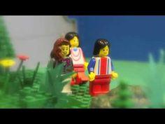 LEGO-pääsiäistarina ylösnousemus Lego, Religion, Teaching, Education, Easter, School, Youtube, Fictional Characters, Easter Activities