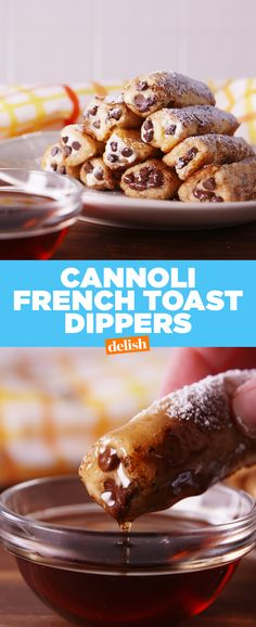 PSA: You can officially eat cannoli for breakfast. Get the recipe from Delish.com.