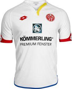 1. FSV Mainz 05 (Germany) - 2016/2017 Lotto Away Shirt