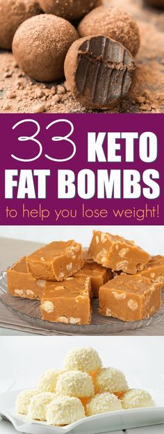 The BEST keto fat bomb recipes!! If you want to boost your fat intake on a keto diet or low carb diet, fat bombs are a great way to do it! In this post, I've compiled 33 droolworthy keto fat bombs recipes for you to try. #fatbombs #ketodiet #fatbomb #fatbombrecipes #fatbomblowcarb #fatbombdesserts #fatbombketorecipe