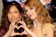 Taylor and Steven Tyler
