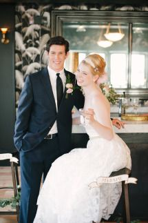 After Wedding Inspiration from Michelle Edgemont + Brklyn View Photography | Photos - Style Me Pretty | Venue - 501 Union NYC