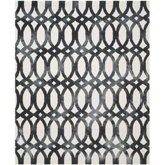 Moscow Hand- tufted Ivory/Graphite Area Rug Reviews (2,530 AED) ❤ liked on Polyvore featuring home, rugs, dark grey rug, dark gray area rug, charcoal grey rug, dark gray rug and cream colored rugs