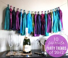10 favorite awe-worthy party trends of 2012 from Babble.com