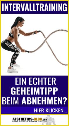 HIIT Training - Insider Tip for Weight Loss? Cardio Training, Strength Training Workouts, Training Plan, Weight Training, Hiking Training, Workout Videos For Women, Workout For Beginners, Losing Weight Tips, Weight Loss