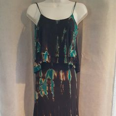 """Awesome maxi dress Perfect casual dress. Only worn a couple times. Great length and very comfortable. 60"""" long from strap to the end of the dress. The bust is 34"""". No trades please. Dresses Maxi"""