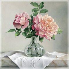 Цветы бельгийского художника Pieter Wagemans