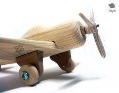 Handmade Wooden Toy Airplane, #odinstoyfactory #tallahassee #florida #handmade #handcrafted #woodentoys #woodentoy #airplane