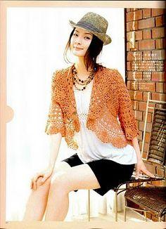 free crochet pattern bolero