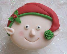Christmas elf cupcake tutorial by mrs bakers cakes