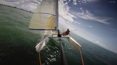 Nacra 4.5 with screecher 2015-2016 Fun days Sailing. #Nacra_Catamaran_Photos #Nacra_Sailing