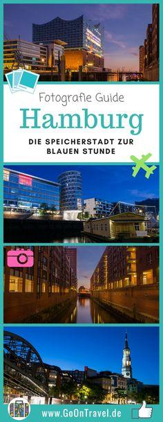 Die Speicherstadt ist eines der beliebtesten Sehenswürdigkeiten der Hansestadt Hamburg. Die historischen Backsteingebäude an der Elbe wollten wir unbedingt zur berühmten blauen Stunde fotografieren. Unseren  Erfahrungsbericht und die Ergebnisse findest du hier.  #Reisefotografie #SpeicherstadtHamburg #FototippHamburg #BlaueStundeHamburg #TippsHamburg