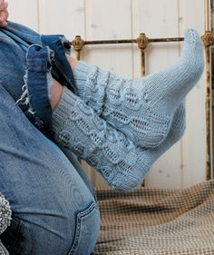 knitted socks #pattern free from Rowan yarn