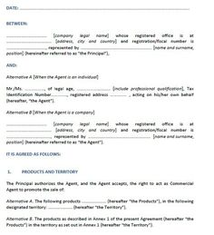 Construction Contract Template  Stationary Templates