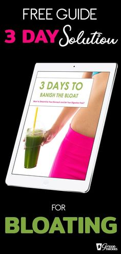 """Want to Streamline Your Stomach and Set Your Digestion Free?    GET YOUR FREE COPY OF """"3 DAYS TO BANISH THE BLOAT""""    3 secrets to banishing the bloat for good, without feeling deprived or unsociable...    My 2 secret weight loss weapons, my morning elixir and my evening alkalizing drink….    3 day clean eating program, complete with full delicious recipes so you can say goodbye to the bloat and hello to your new svelte silhouette.    #greenthickies #bloat #antibloat #weightloss #cleaneating Best Green Juice Recipe, Green Juice Recipes, Green Smoothie Recipes, Green Smoothie Cleanse, Green Detox Smoothie, Lose Weight Quick, Lose Weight Naturally, Anti Bloating, Delicious Recipes"""