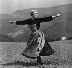 """Julie Andrews en """"Sonrisas y lágrimas"""", 1965"""