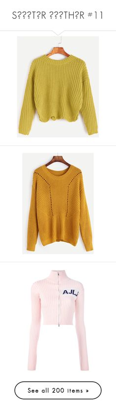 """""""SШΣΔTΣR ШΣΔTHΣR #11"""" by booknerd1326 ❤ liked on Polyvore featuring tops, sweaters, yellow, yellow pullover sweater, beige sweater, yellow sweater, drop shoulder sweater, long sleeve pullover sweater, mustard and mustard yellow sweater"""