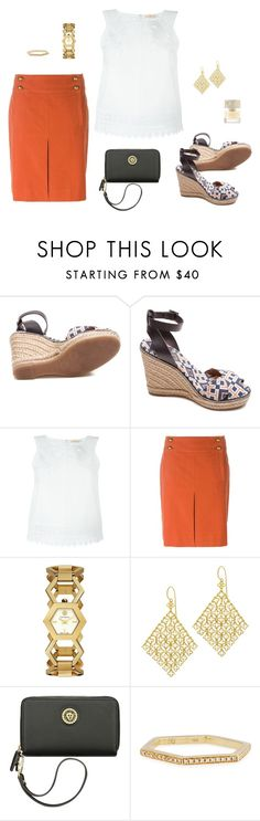 """""""Her"""" by picassogirl ❤ liked on Polyvore featuring Tory Burch, Dinny Hall, Anne Klein, Sydney Evan and Smith & Cult"""