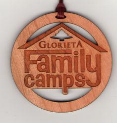 Advertise with your custom wood ornaments! #engraved #woodornament #customornament