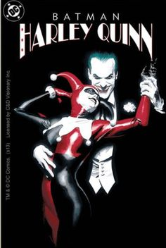 Licenses Products DC Comics Batman Joker with Harley Quinn Sticker @ niftywarehouse.com #NiftyWarehouse #Batman #DC #Comics #ComicBooks