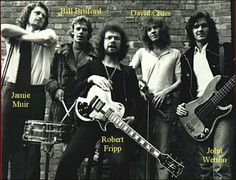 King Crimson, with Robert Fripp