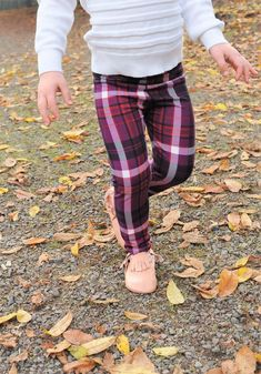 A gorgeously rich purple plaid makes for the perfect leggings this holiday season, carrying you from Thanksgiving through Christmas and beyond!These leggings are tapered in the leg and the seams are serged for comfort, durability and a professional finish. The waistband is finished with a non-roll elastic. This fabric is high-quality double-brushed polyester; very soft and stretchy. #ad #purple #leggings #kids