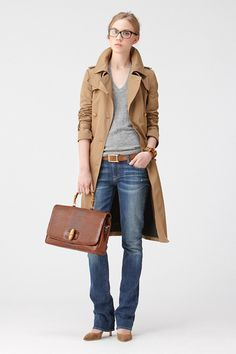 Casual Friday - need to throw on a blazer too Style Casual, Casual Elegance, Work Casual, Casual Chic, Casual Fridays, Preppy Outfits, Mode Outfits, Fashion Outfits, Womens Fashion