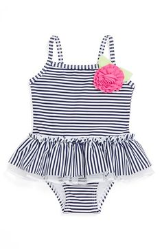 Little Me One-Piece Swimsuit (Baby Girls) available at #Nordstrom