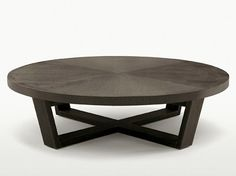 XILOS Round coffee table by Maxalto, a brand of B