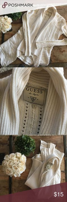 Knitted blazer Worn a few times blazer by guess, my size changed so can no longer wear them. Accepting offers Guess Jackets & Coats Blazers
