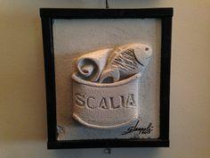 Bassorilievo realizzato per industria ittica SCALIA Sciacca (AG)
