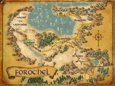 LOTRO map of Forochel