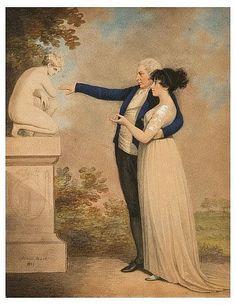 Adam Buck (1759 - 1833). A lady and gentleman 1801