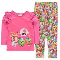 Girls Shopkins Pyjamas