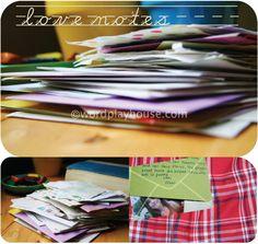 love notes for children—lovely letter ideas to leave for encouragement, gratitude and praise