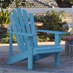 Shineco 4611CP Westport Adirondack Chair Chili Pepper $166.53