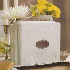 Porcelain Book Vase Set (Pack of 1)