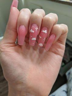 pink cloud nails