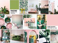 Afbeeldingsresultaat voor interior design pink and green Grey Green Bedrooms, Bedroom Green, Bedroom Colors, Sage Living Room, Living Room Decor, Grey Room, Pink Room, Sage Green Kitchen, Room Color Schemes