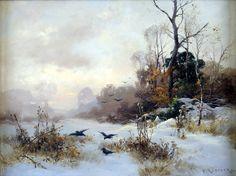 Немецкий художник Heinrich Gogarten (1850 - 1911).: evgensemenihin