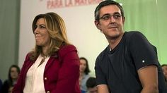 Díaz: «Voy a colaborar porque quiero que Madina esté en el Parlamento»