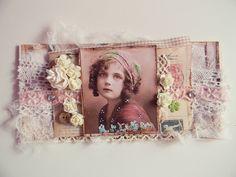 vintage card, jasminowasia