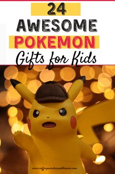 Pokemon Gifts for Kids #birthday #christmas #holiday #tweens #boys Pokemon Candy, Pokemon Gifts, Pokemon Christmas Gifts, Christmas Holiday, Pokemon Names, Cool Pokemon, Birthday Gifts For Boys, Gifts For Kids