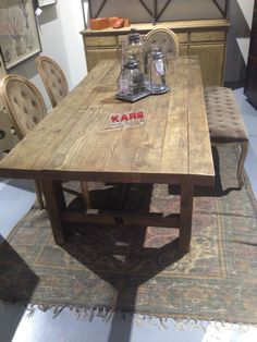 New table from Kare #table #kare #masiv