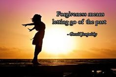 What is the key to forgiveness?