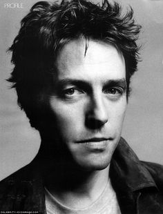 Hugh Grant. One of the hottest old guys ever and mainly just because of his accent.