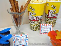 Dr. Seuss Birthday Party Food Snacks