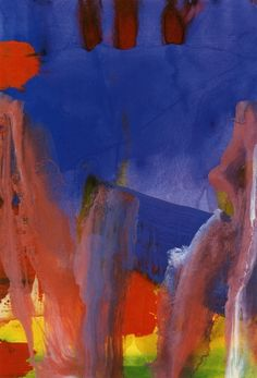 Gerhard Richter » Art » Oil on Paper » Untitled (3.10.85)